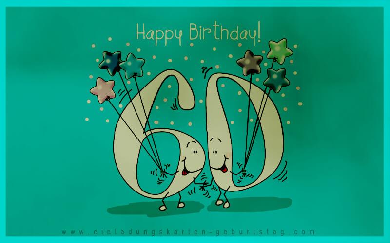 Einladungskarten 60. Geburtstag Selbst Basteln 4