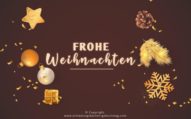 Frohe Weihnachten 2